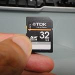 AmazonでTDKの32GB SDカードを1,780円で買ったぞ~