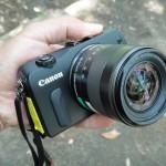 キヤノンのミラーレスカメラEOS Mを無料で借りてみた!
