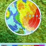 天気が不安定な日は、気象庁のアプリGo雨!探知機 -XバンドMPレーダーが便利。周囲の雨雲を一目で確認できる!