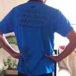 湘南国際マラソン2012のTシャツが届いたので、早速着用してみました!